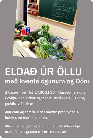 Eldað úr öllu